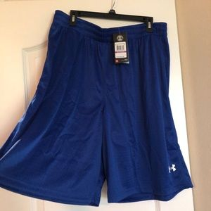 Men's blue under armour shorts new xxl